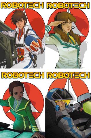 Robotech: Kerschl Super Pack (LCSD 2017)