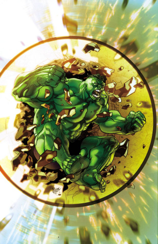 Indestructible Hulk #4 (Ferry Cover)