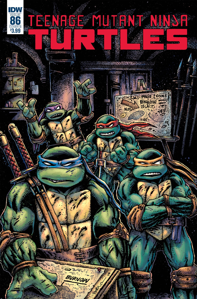 Teenage Mutant Ninja Turtles #86 (Eastman Cover)