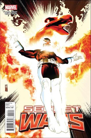 Secret Wars #4 (Dell'Otto Cover)