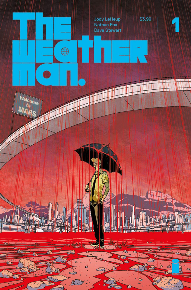 The Weatherman #1 (Martin Cover)