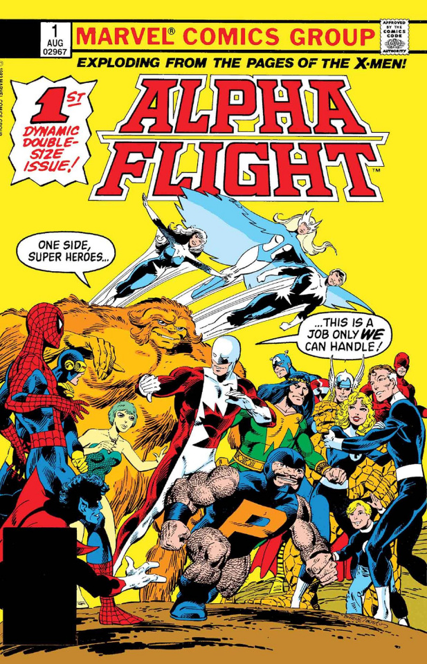 Alpha Flight #1 (Facsimile Edition)
