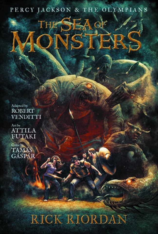 Percy Jackson & The Olympians Vol. 2: The Sea of Monsters