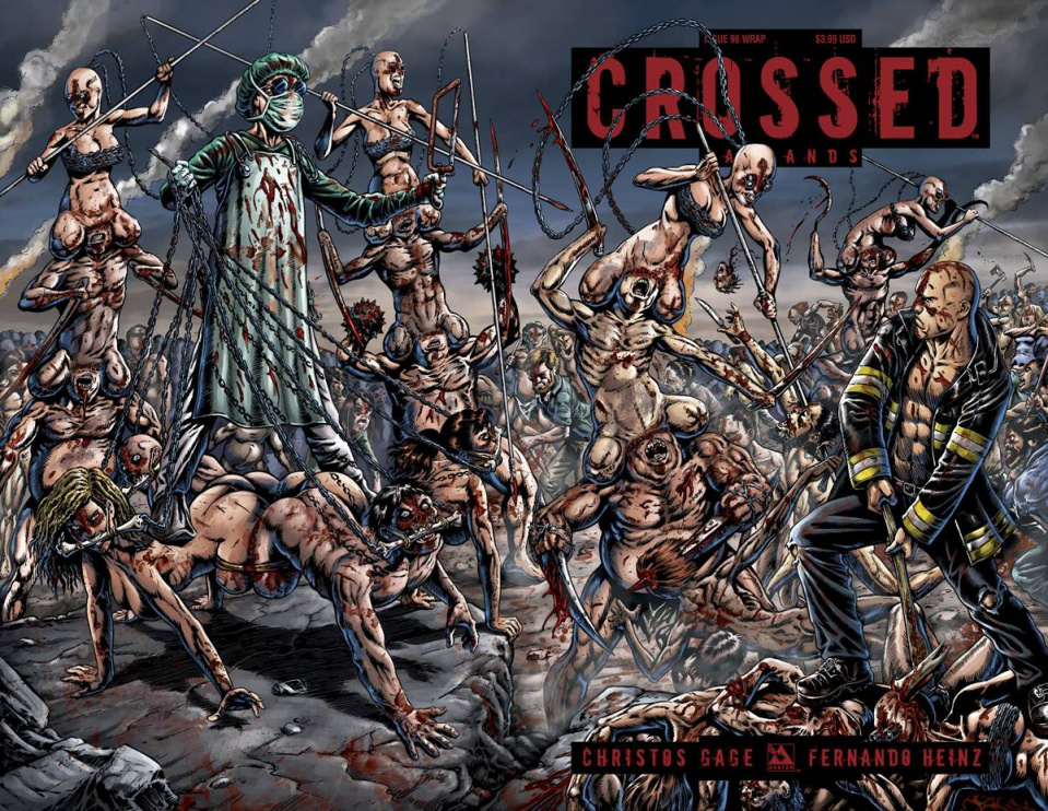 Crossed: Badlands #96 (Wrap Cover)