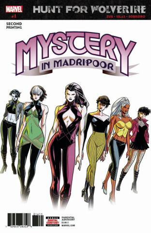 Hunt for Wolverine: The Mystery in Madripoor #1 (Silas 2nd Printing)