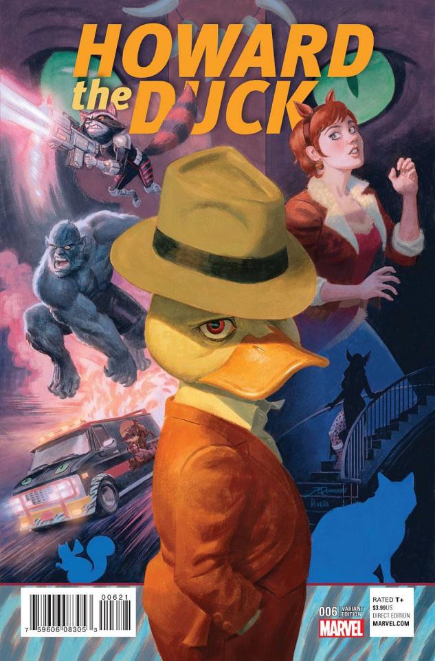 Howard the Duck #6 (Quinones Rivera Cover)