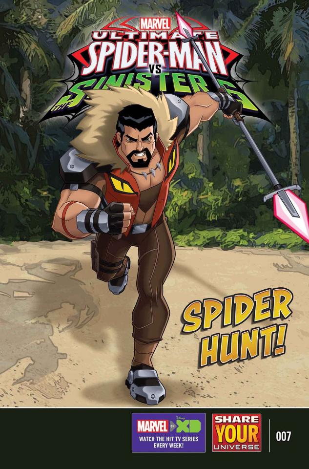 Marvel Universe: Ultimate Spider-Man vs. The Sinister 6 #7