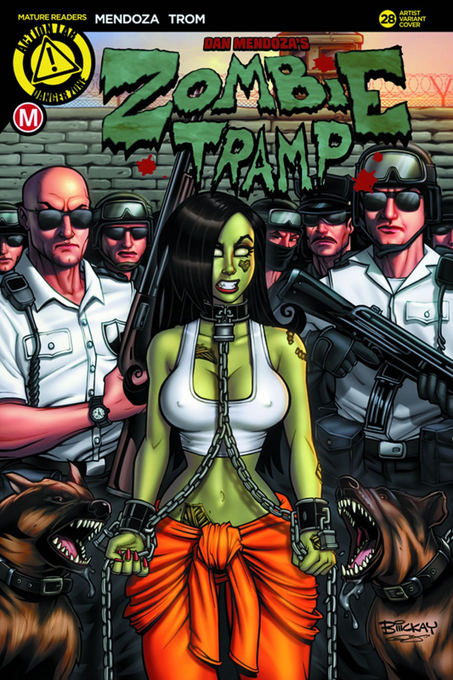Zombie Tramp #28 (McKay Cover)