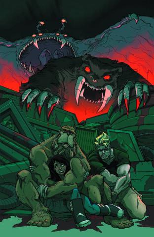 Perhapanauts: Danger Down Under #5 (Rousseau Cover)