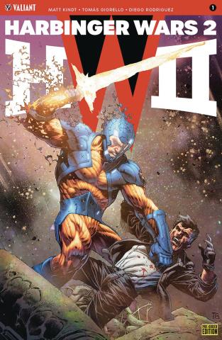 Harbinger Wars 2 #1 (Pre-Order Bundle Cover)