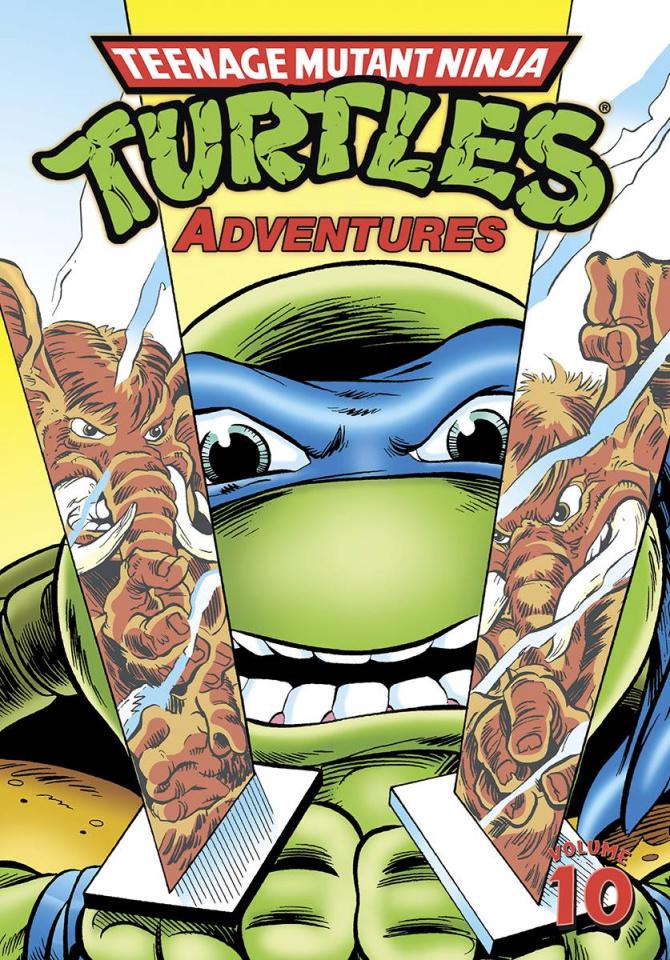 Teenage Mutant Ninja Turtles Adventures Vol. 10