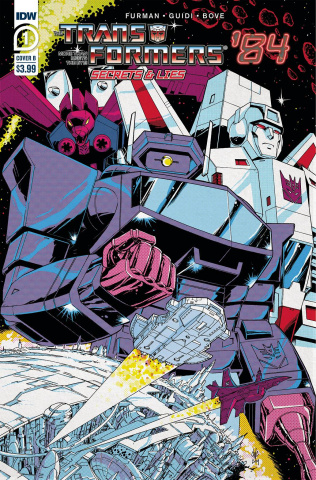 The Transformers '84: Secrets & Lies #1 (Coller Cover)