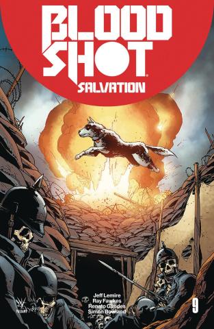 Bloodshot: Salvation #9 (Camuncoli Cover)