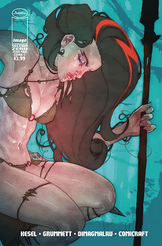 Section Zero #4 (Caldwell Cover)