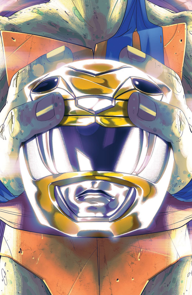 Power Rangers / Teenage Mutant Ninja Turtles #2 (Montes Cover)