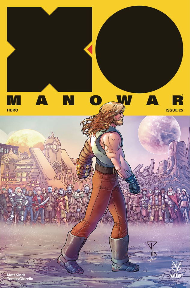 X-O Manowar #25 (20 Copy Portela Interlocking Cover)