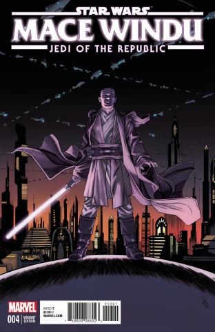 Star Wars: Mace Windu, Jedi of the Republic #4 (Shalvey Cover)