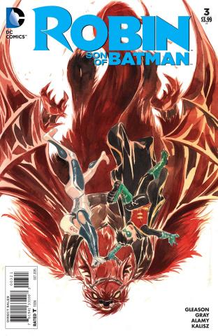 Robin: Son of Batman #3 (Variant Cover)