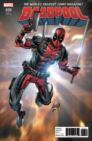 Deadpool #30 (Liefeld Cover)