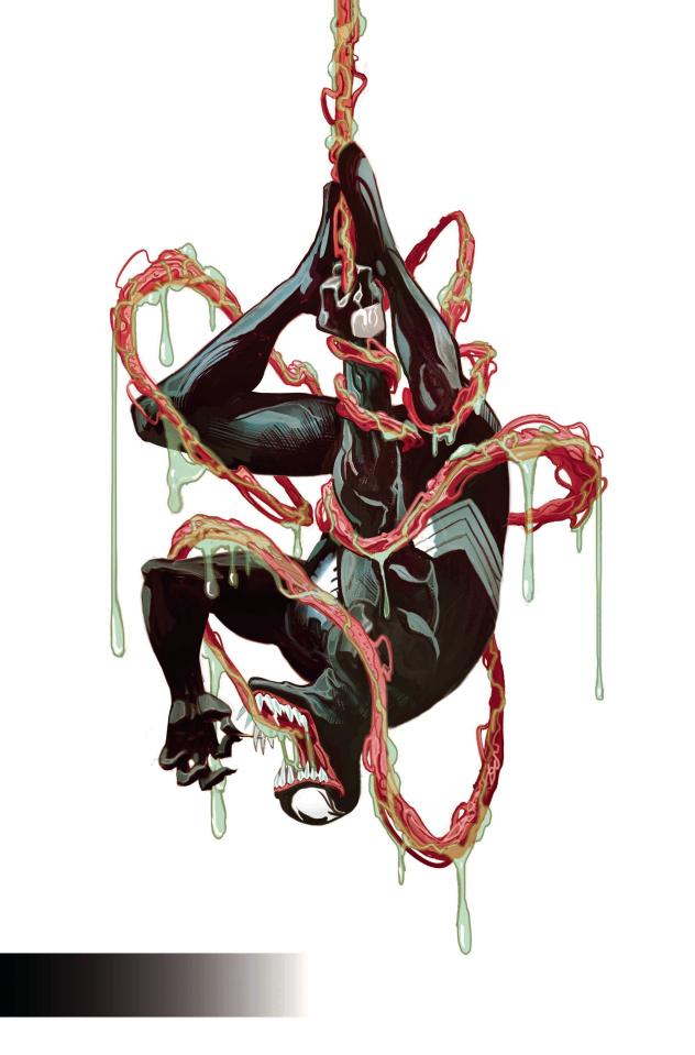 Venom #2 (Del Mundo Young Guns Cover)