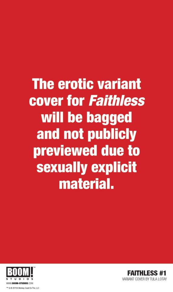 Faithless #1 (Lotay Erotica Cover)