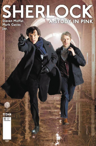 Sherlock: A Study in Pink #2 (Photo Cover)