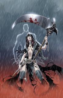 Grimm Fairy Tales: Grimm Tales of Terror #1 (Casas Cover)