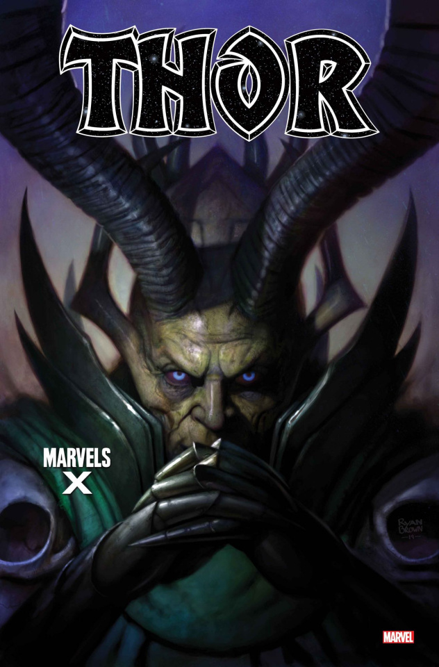 Thor #1 (Brown Marvels X Cover)