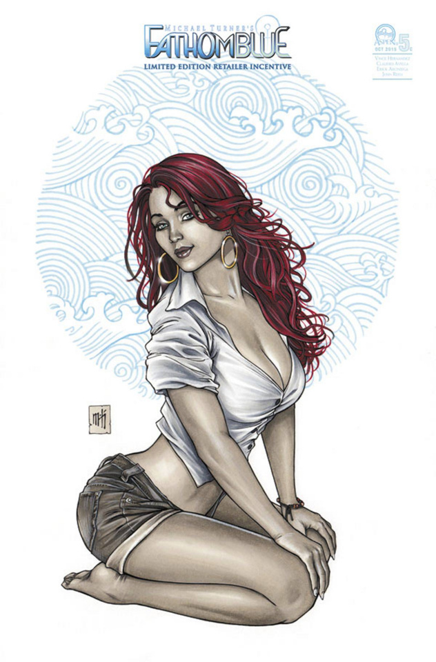Fathom: Blue #5 (8 Copy Cover)