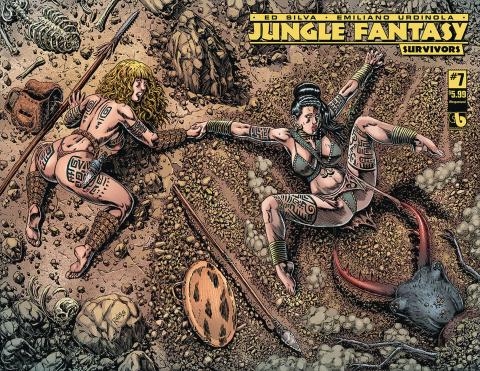 Jungle Fantasy: Survivors #7 (Wrap Cover)