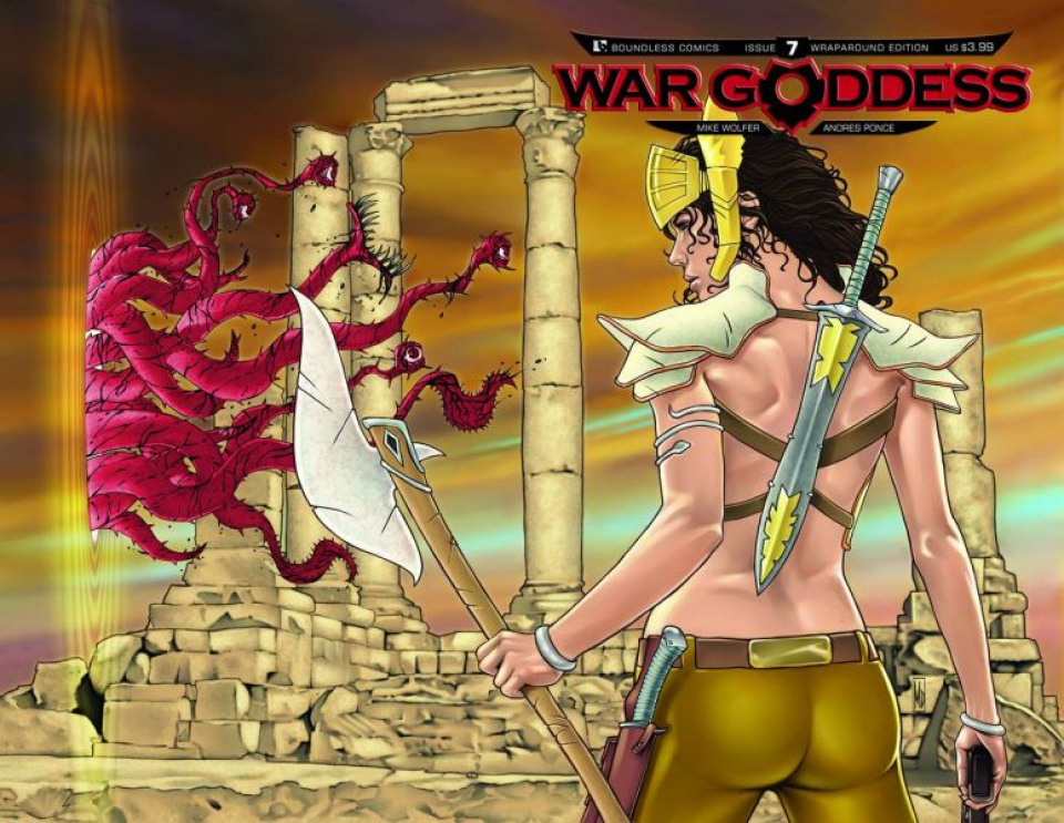 War Goddess #7 (Wrap Cover)