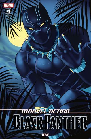 Marvel Action: Black Panther #4 (10 Copy Ganucheau Cover)