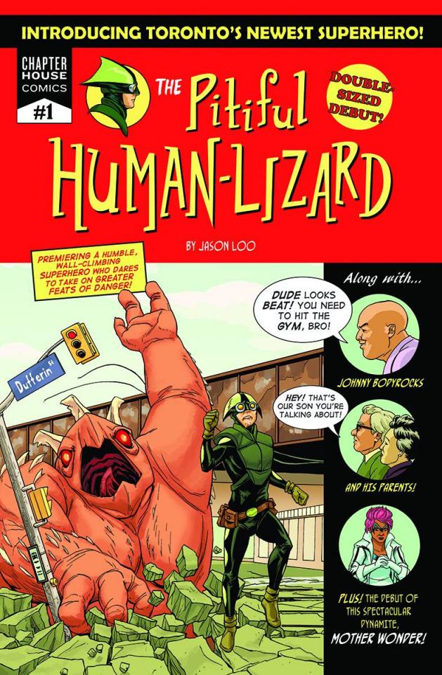 The Pitiful Human-Lizard #1