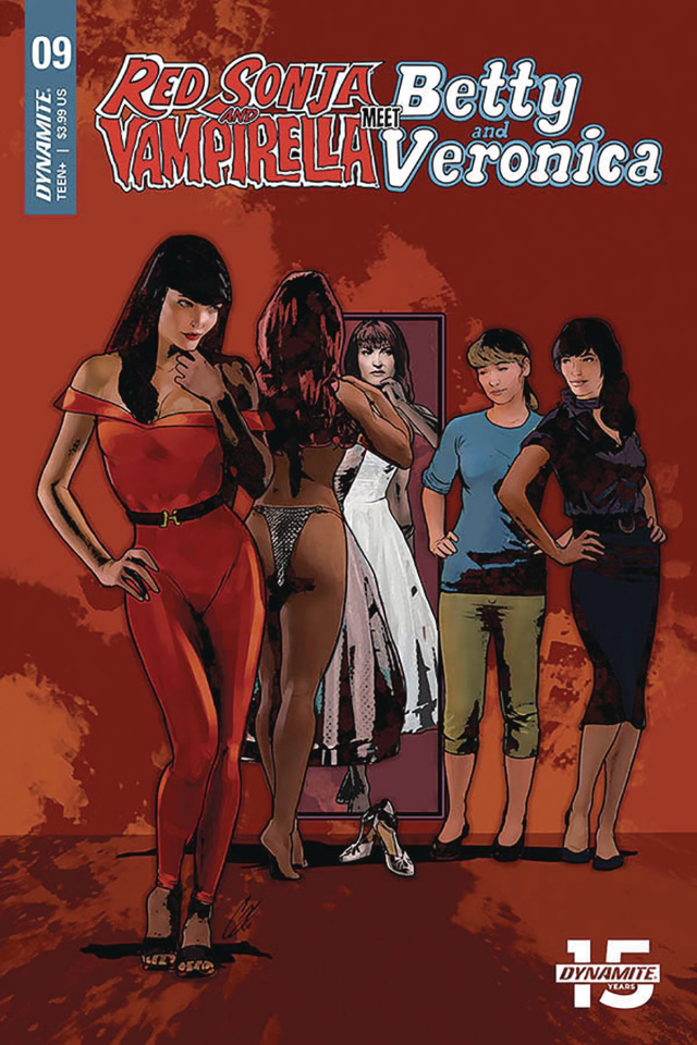 Red Sonja and Vampirella Meet Betty and Veronica #9 (Staggs Cover)