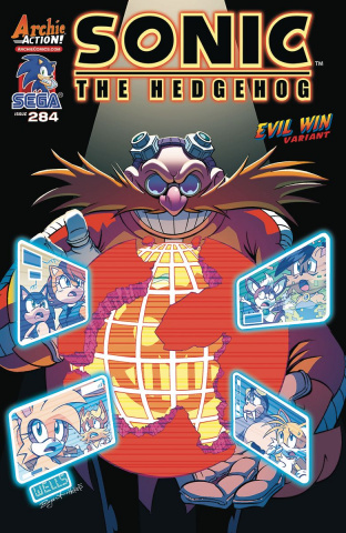 Sonic the Hedgehog #284 (Lamar Wells Cover)