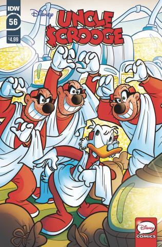 Uncle Scrooge #56 (Gervasio Cover)