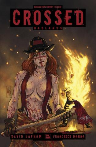 Crossed: Badlands #65 (Fatal Fantasy Cover)