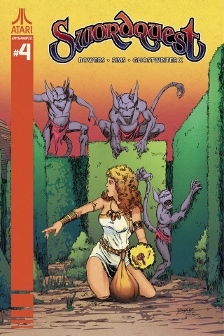 Swordquest #4 (Perez Cover)