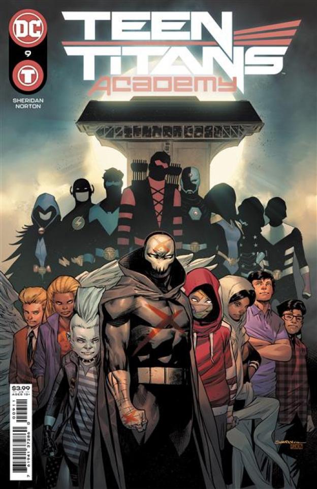 Teen Titans Academy #9 (Rafa Sandoval Cover)