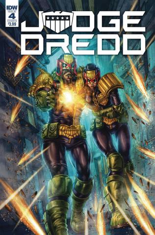 Judge Dredd: Under Siege #4 (Quah Cover)