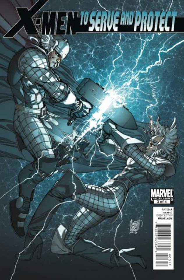 X-Men: To Serve and Protect #3