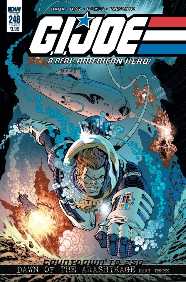 G.I. Joe: A Real American Hero #248 (Royle Cover)