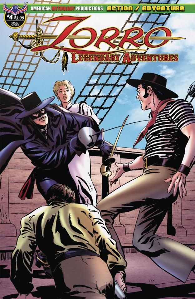 Zorro: Legendary Adventures #4