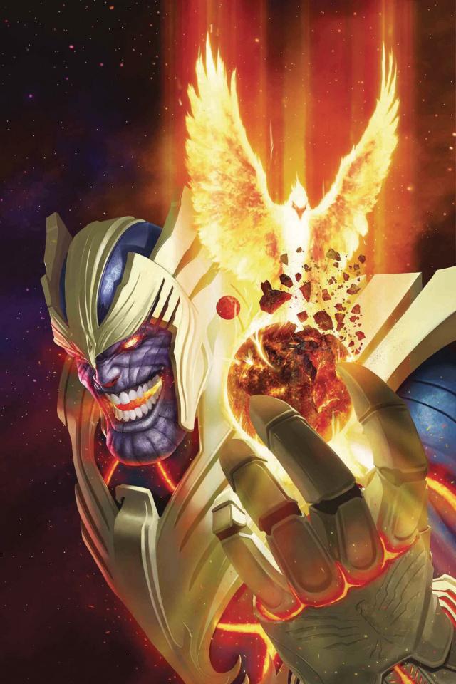 Thanos #14 (Rahzzah Phoenix Cover)