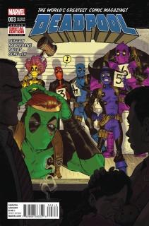 Deadpool #3 (Moore 2nd Printing)