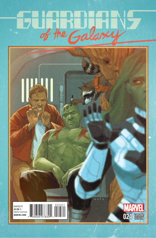 Guardians of the Galaxy #24 (Noto Cover)