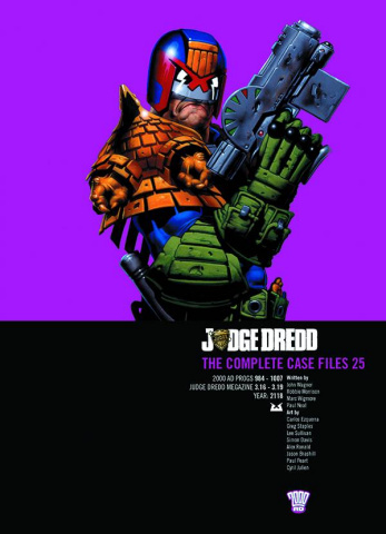 Judge Dredd: The Complete Case Files Vol. 25