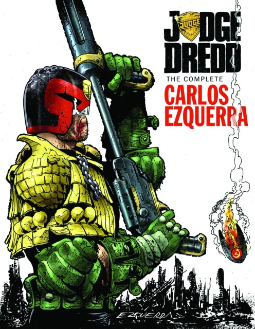 Judge Dredd: The Complete Carlos Ezquerra Vol. 2