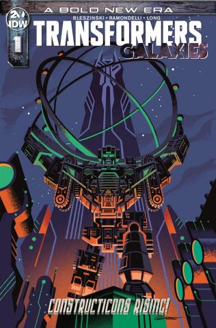 Transformers: Galaxies #1 (10 Copy Caltsoudas Cover)