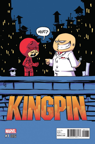 Kingpin #1 (Young Cover)